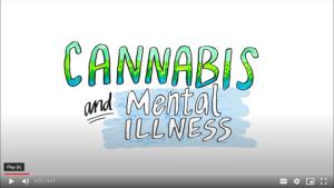 Cannabis and mental illness video screenshot